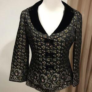 Nanette Lepore blazer and camisole